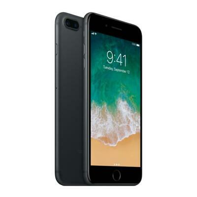 Apple iPhone 7 Plus - Unlocked AT-T  T-Mobile - 128GB - Jet Black - Smartphone