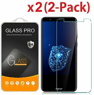 2-Pack Tempered Glass Screen Protector For Huawei Honor 7X  Huawei Mate SE