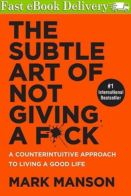 The Subtle Art of Not Giving a Fck by Mark Manson 2018eBook