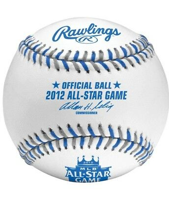 Rawlings 2012 All Star Official MLB Game Baseball Kansas City Royals Boxed