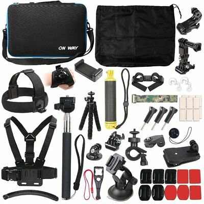 50 in 1 Action Camera Outdoor Sports Accessories Kit GoPro Hero 7654321