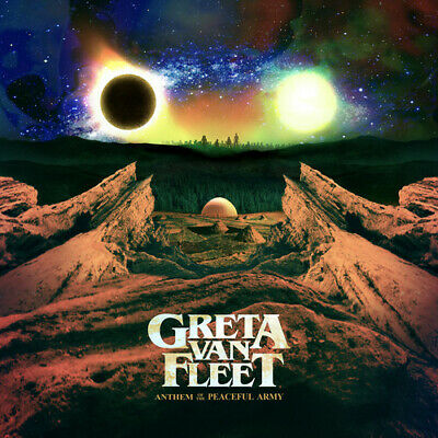 Greta Van Fleet - Anthem Of The Peaceful Army New CD With Booklet