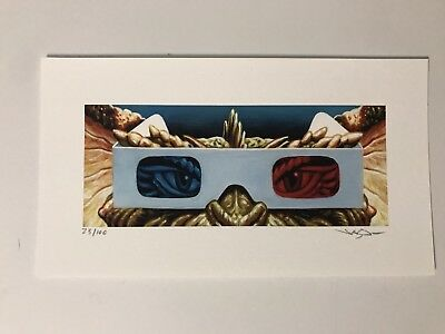 Gremlins -Jason Edmiston Print Mondo Horror Eyes Without A Face EWAF Sold Out