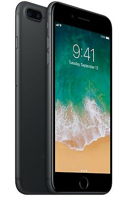 Apple iPhone 7 Plus - 128GB - Black (Factory Unlocked; GSM AT&T / T-Mobile)