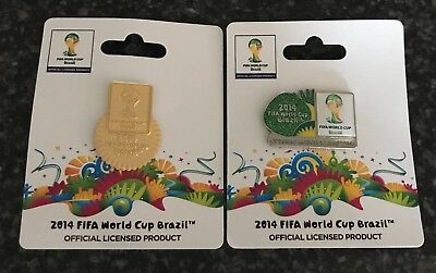 OFFICIAL   FIFA 2014 BRAZIL World Cup Pins