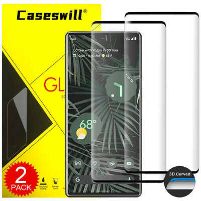 For Google Pixel 3a 3 2 XL Full Cover 3D Curved Tempered Glass Screen Protector