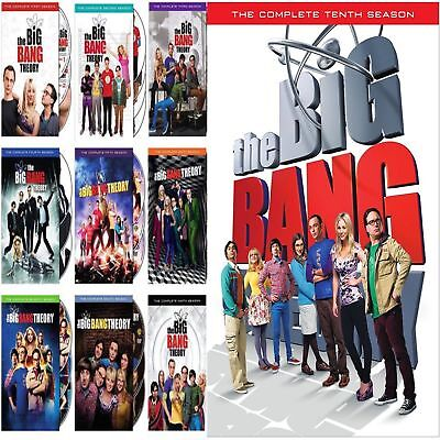 NEW The Big Bang Theory Complete Series Seasons 1 - 10 DVD Set BRAND
