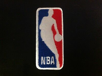 4 NBA BADGE CLASSIC LOGO Embroidered Iron OnSew On Patch USA Seller
