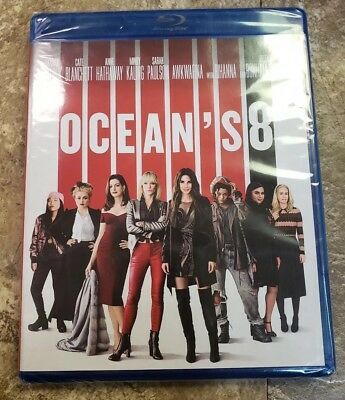 NEW - Oceans 8 Blu-ray - DVD - Digital