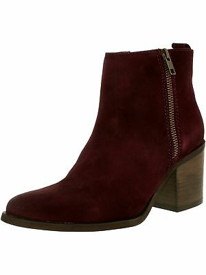 Steve Madden Womens Portta Suede Ankle-High Boot