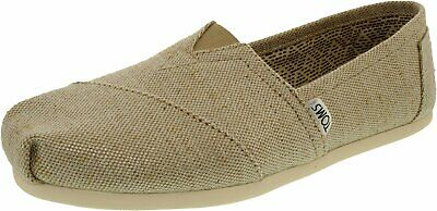 Toms Womens Alpargata Metallic Burlap Ankle-High Fabric Flat Shoe