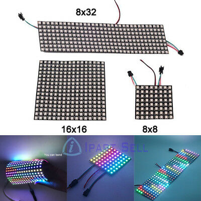 WS2812B 5050 RGB LED Pixel Strip Light Advertising Display Panel Digital Screen