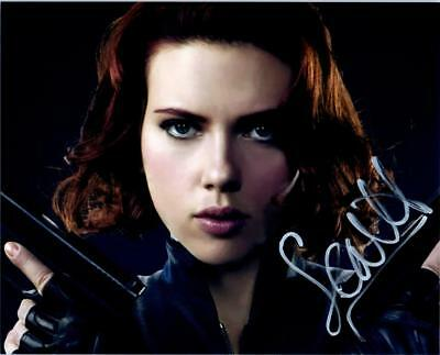 Scarlett Johansson 8x10 autographed Photo signed Picture amazing and COA