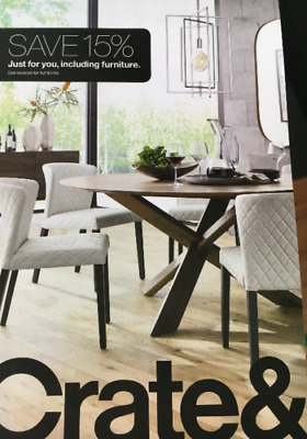 Crate and Barrel 15 off entire purchase 1coupon - sent fast - expires 02-28-19