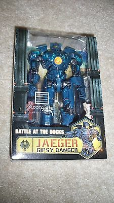 PACIFIC RIM JAEGER GIPSY DANGER ACTION FIGURE LOOT CRATE EXCLUSIVE - FREE SHIP
