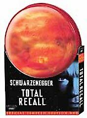Total Recall star- Arnold Schwarzenegger DVD 2001 Special Limited Edition