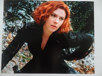 Scarlett Johansson - Lucy 8x10 Photograph Signed Autographed Free Shipping