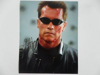 Arnold Schwarzenegger Judgment 8x10 Photograph Signed Autographed Free Shipping
