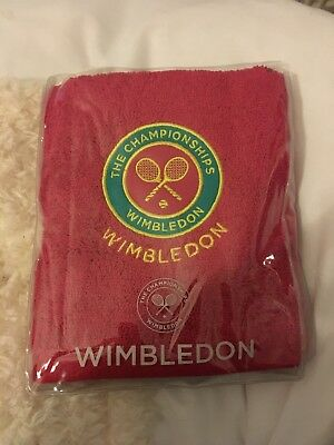 Wimbledon Guest Towel - New In Wrapper