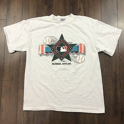 Vintage Baltimore Orioles All Star Game SHIRT MENS XL MLB BASEBALL MADE IN USA
