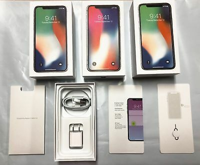 iPhone X Empty Retail Box - Accessories Option Manual Included