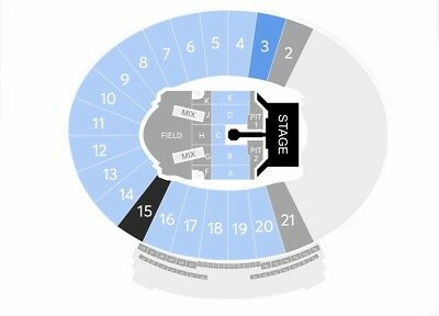 2 ROLLING STONES TICKETS ROSE BOWL PASADENA VERY GOOD ROW 35 SEATS 5112019