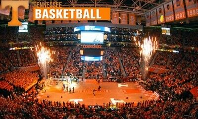 4 x UT VOLS vs Mississppi State - Mens Basketball Tickets - Parking Pass