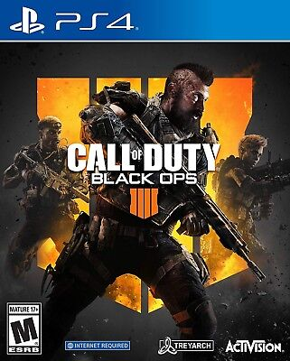 Call of Duty Black Ops 4 IIII IV Sony PlayStation 4 PS4 Brand New Sealed