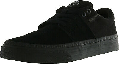 Supra Mens Stacks Ii Vulc Hf Ankle-High Canvas Skateboarding Shoe