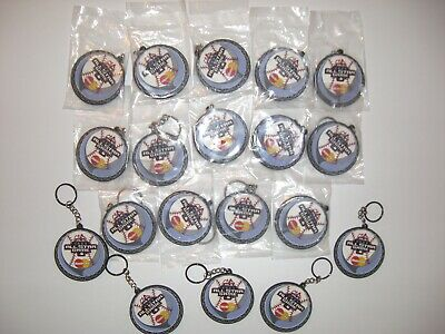 19 2003 MLB BASEBALL ALL-STAR GAME KEYCHAIN LOT - BASEBALL COLLECTABLE LOT
