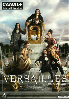 Versailles Season Three 3 dvd set R1 DEU Import US - CA Playback