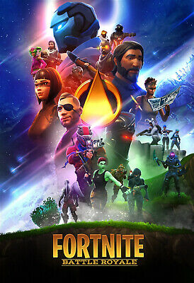 FORTNITE Battle Royale Game Poster - 11x17 - 13x19 - 2