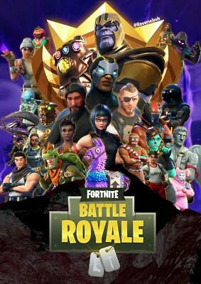 FORTNITE Battle Royale Game Poster - 11x17 - 13x19 - 3