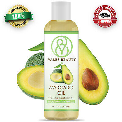 Avocado Oil 100 Natural Great For Aromatherapy Skin Body - Hair
