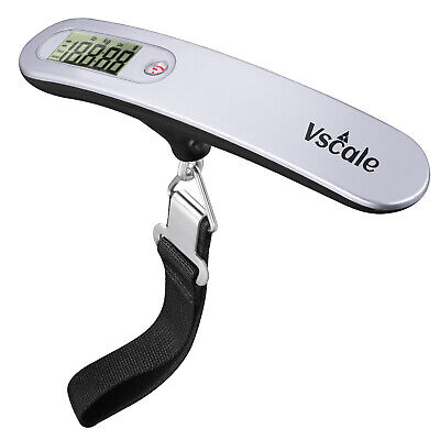 Vscale® Luggage Scale XT500 Digital Portable Travel Weight Scale 110lb  50Kg