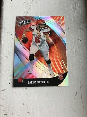 BAKER MAYFIELD 2018 PANINI BLACK FRIDAY SSP ROOKIE RC FOIL 112199 Rookie