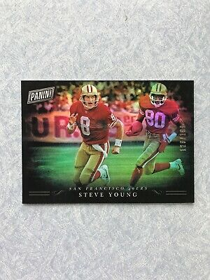 2018 Panini Black Friday STEVE YOUNG Foil Card SP 128199 49ers