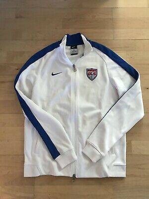 Nike USA Soccer Jacket Size Adult Large Training World Cup National Team Issue
