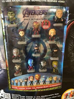 2019  Marvel Avengers Endgame McDonalds Happy Meal Toys Pick Your Favorite New