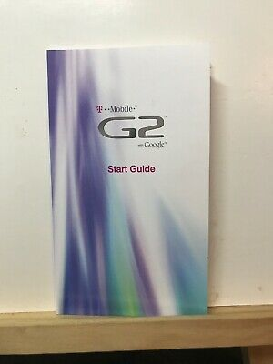 Pre-owned  T Mobile G2 with Google Start Guide Cell Phone Booklet