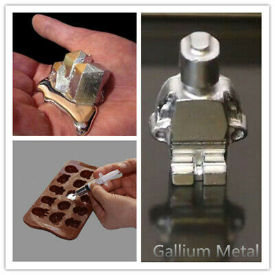 Fast Shipping -50-100Gallium Metal 99-99 Pure Ship From USA IN 5DAYS