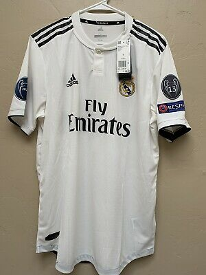 Real Madrid authentic jersey Large 20182019