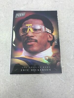Eric Dickerson 2018 Panini Black Friday Serial Number 146199 SP Refractor
