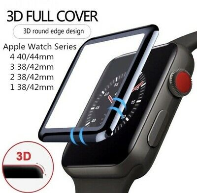 3D Tempered Glass Screen Protector For iWatch Apple Watch 4321 38424044mm