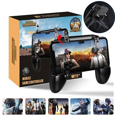 W11- PUBG Mobile Phone Game Controller Gamepad Joystick Wireless iPhone Android