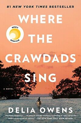 Where the Crawdads Sing 2018 Hardcover by Delia Owens