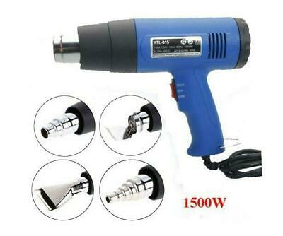 New 110V Dual-Temperature Heat Gun with 4pcs Stainless Steel Concentrator Tips