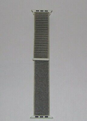 Genuine Apple Watch Sport Loop Band 42mm Seashell Hook-and-Loop Closure  Used