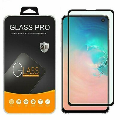 Samsung Galaxy S20 Ultra S10 Plus 10e 5G Full Tempered Glass Screen Protector