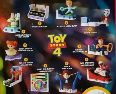 2019 McDONALDS DISNEY TOY STORY 4 HAPPY MEAL TOYS PICK YOUR FAVORITE TOY